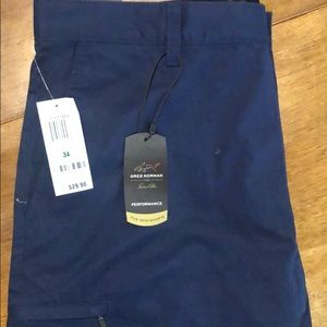 NWT GreG Norman Flat Front Shorts